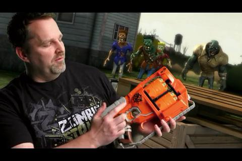 Behind The Blaster: Zombie Strike Flipfury