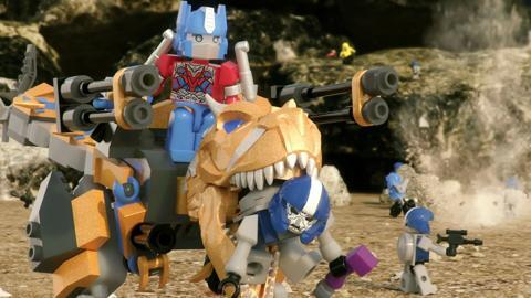 Transformers Kre-O Dinoforce Commercial