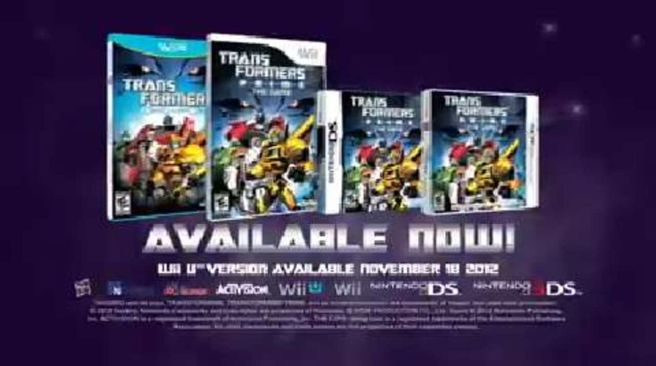 Transformers Prime Video Game Launch Trailer