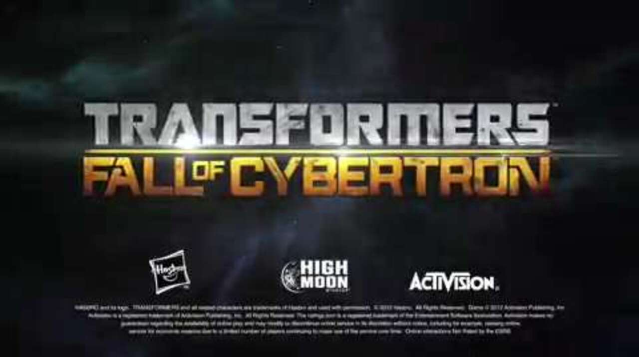 TRANSFORMERS FALL OF CYBERTRON Launch Trailer