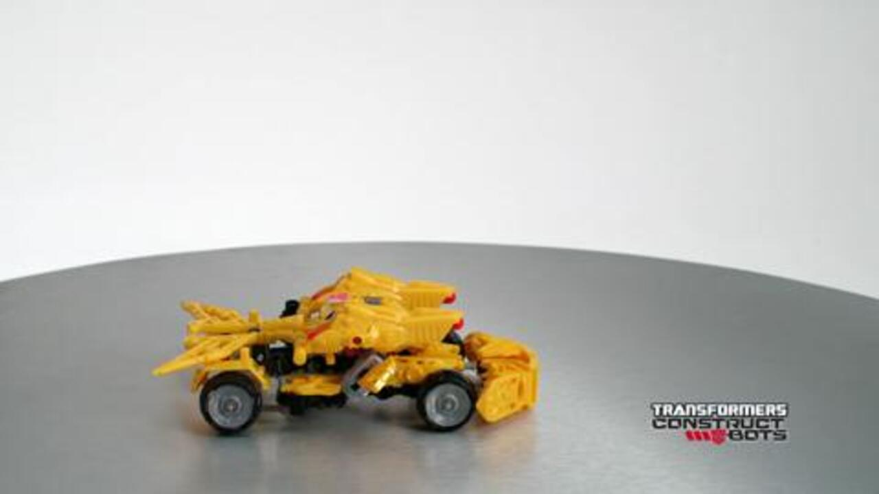Transformers Construct-Bots Bumblebee Instructional Video
