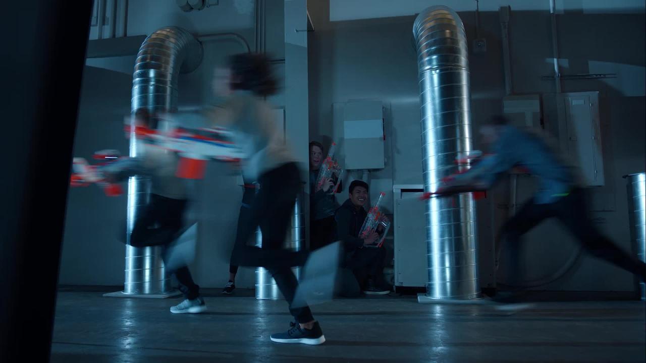 Nerf Modulus Ghost Ops: Evader Blaster