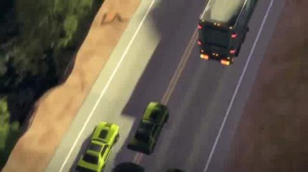 TRANSFORMERS Prime - Convoy - Clip