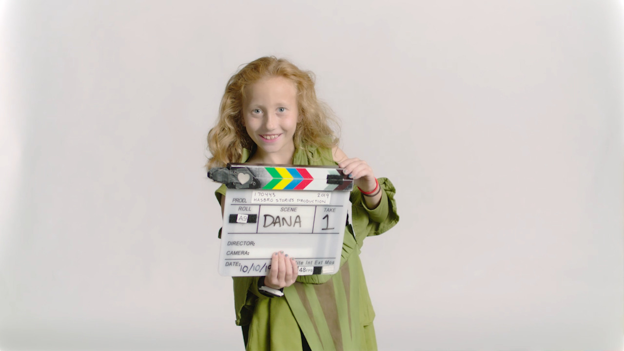 Hasbro Stories: 9 year-old Dana is a gamechanger