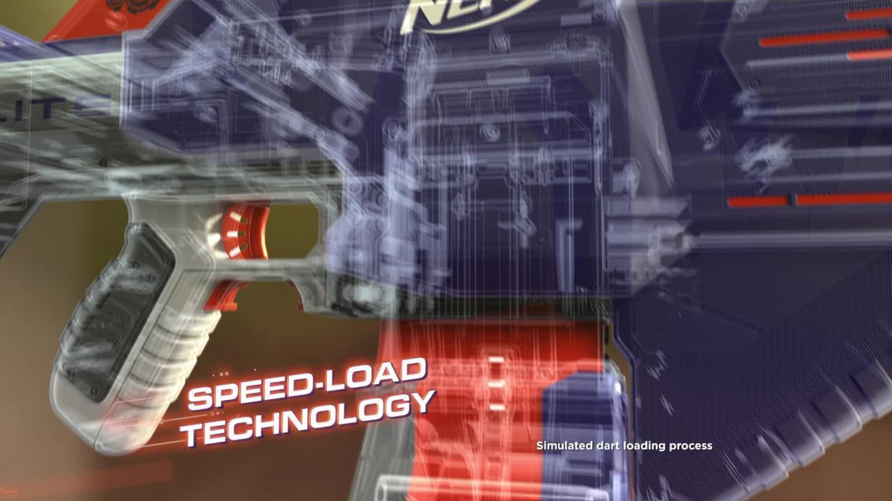 Nerf Elite: Infinus Blaster