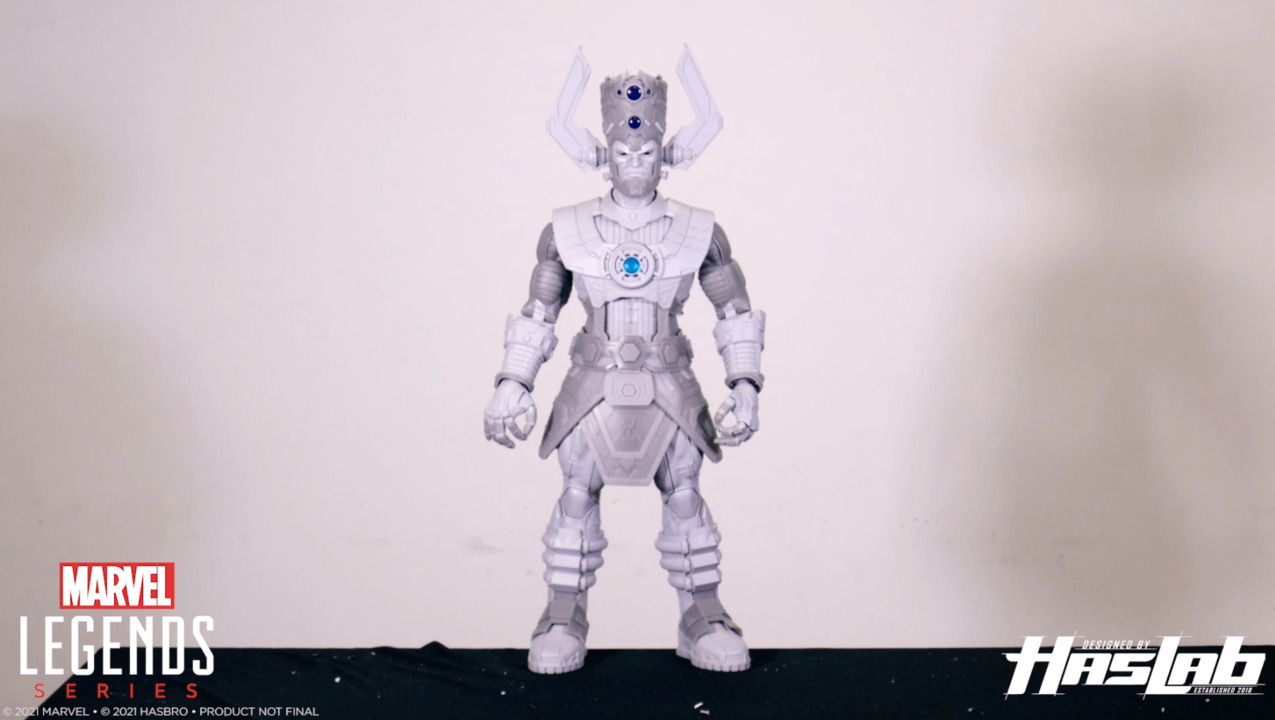 The Assembling of<br>Marvel Legends Series<br>Galactus HasLab is Upon Us!