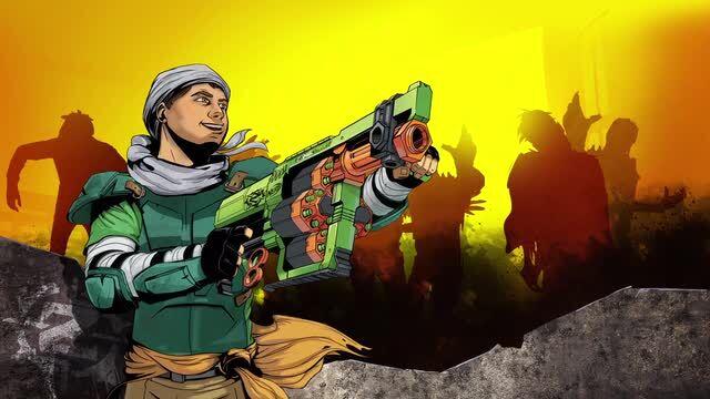 Nerf Zombie Strike Doominator TV Commercial