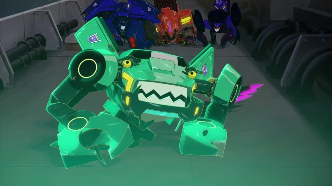 Transformers Robots in Disguise - Decepticons: Meet the Fiends