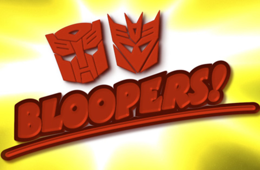 Transformers Prime Blooper Real | Funny Outtakes from the TV Show