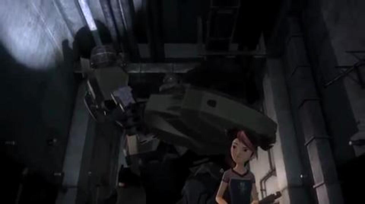 TRANSFORMERS Prime - Scrapheap. Part 1 - Clip