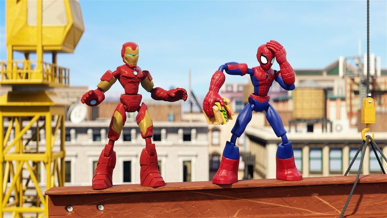 "Hasbro Marvel Bend and Flex<br>""The Lunch Break"" I SHORT"