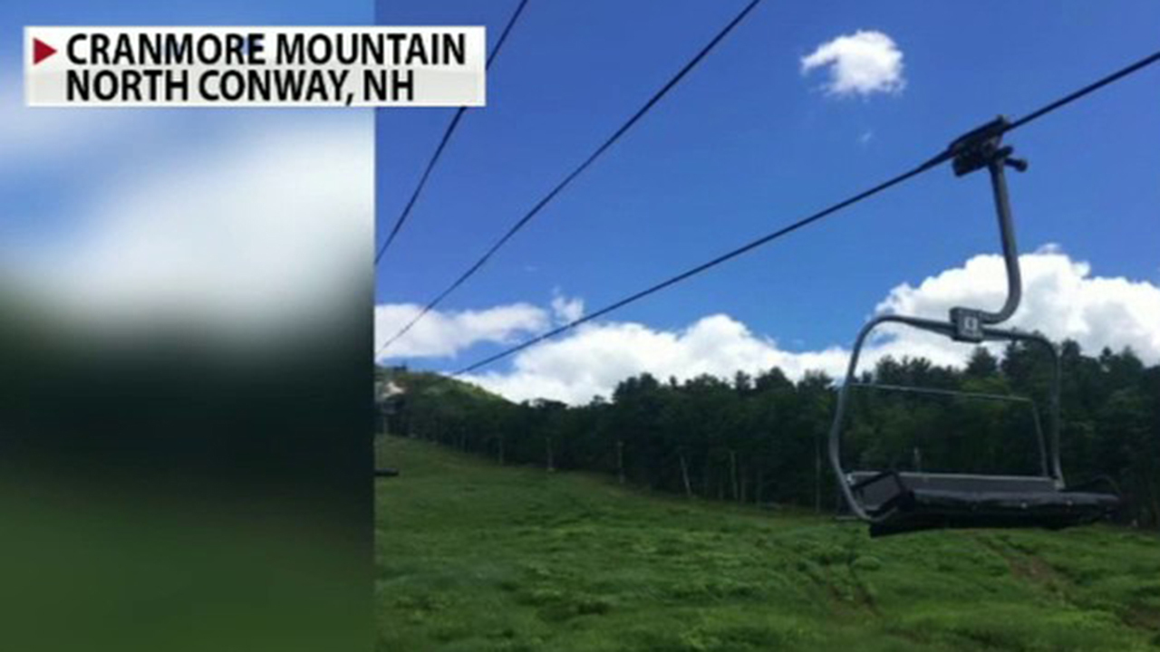 New Hampshire high school plans graduation using ski lift