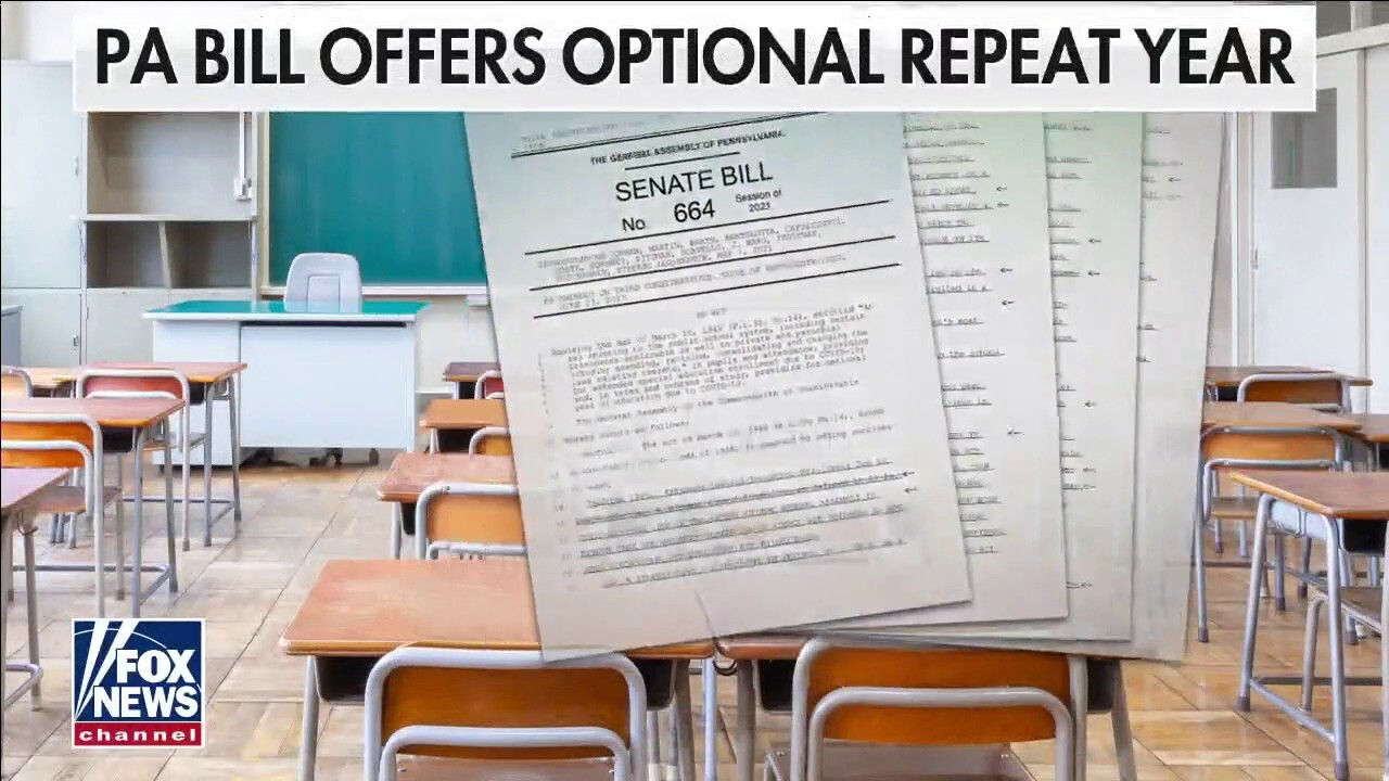 Pennsylvania lawmakers allow students impacted by COVID to repeat school year