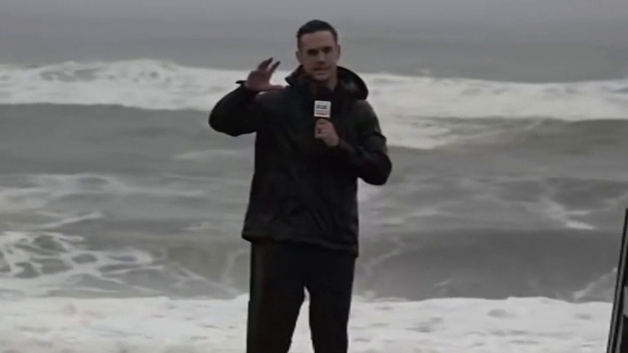 Strong waves, winds in Long Island as Henri makes landfall