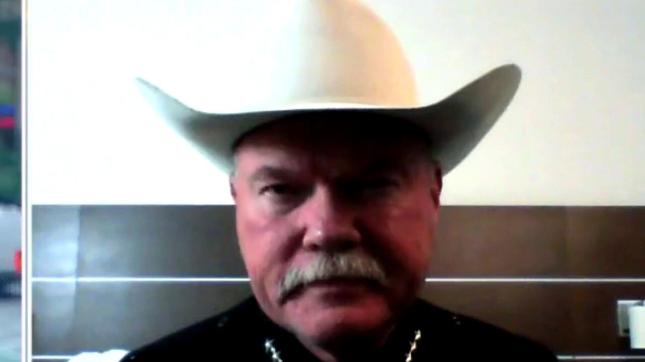 Texas sheriff calls out 'threat of fentanyl' ahead of Trump border visit