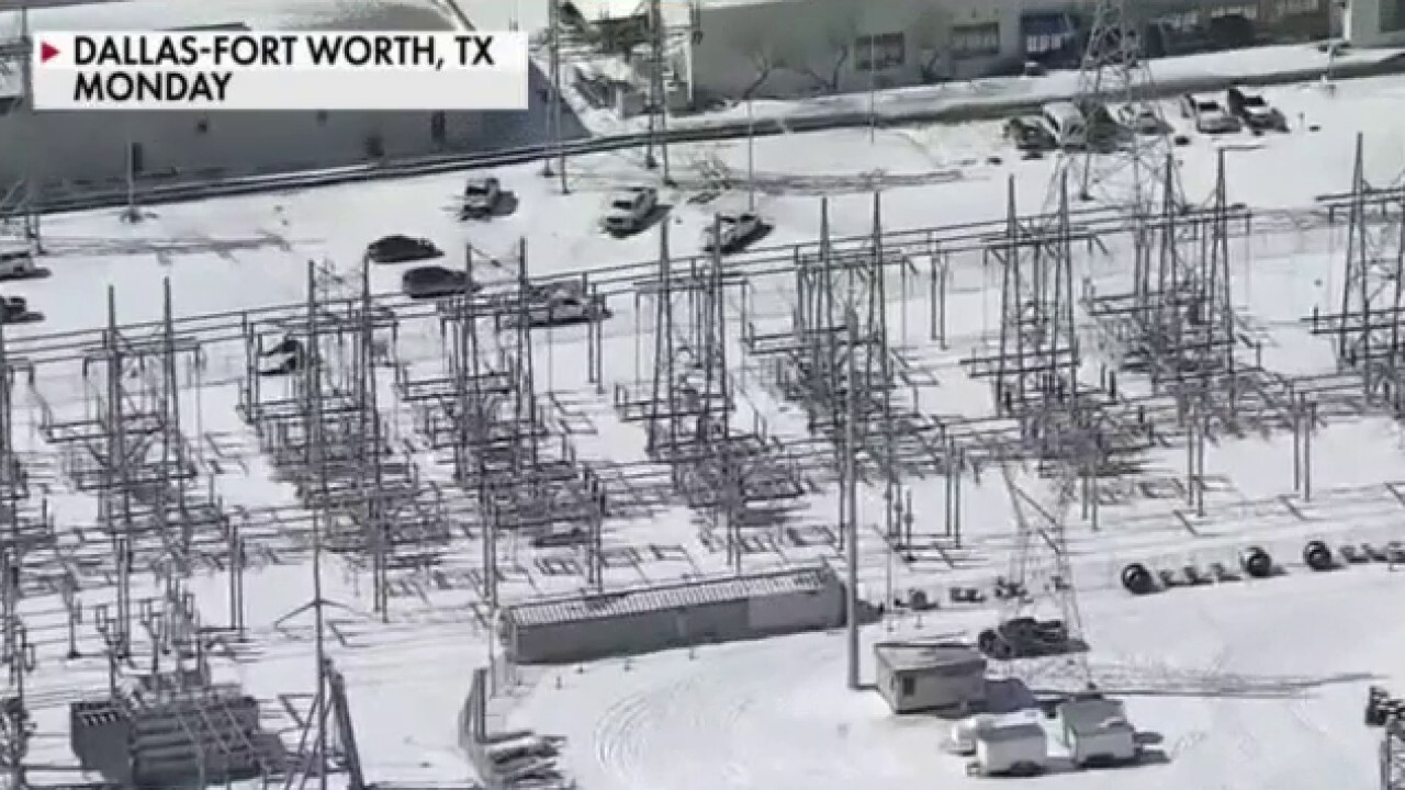 Texas winter storm freezes wind turbines, causes blackouts