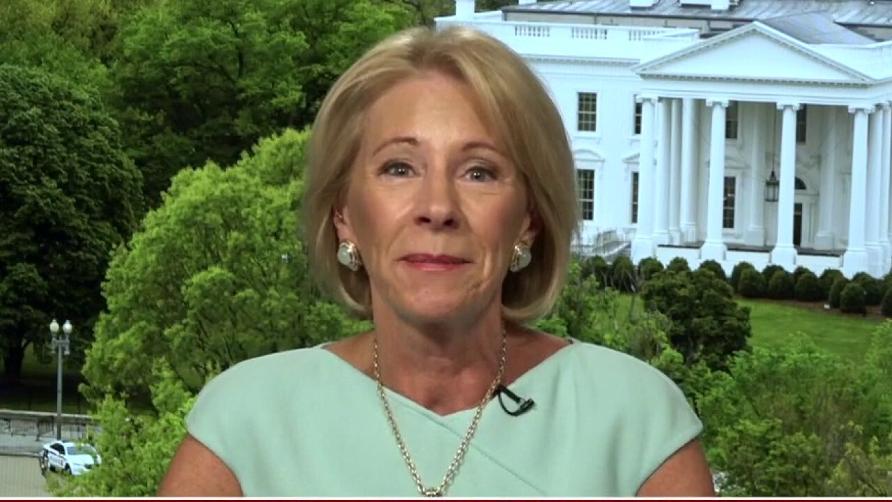 Sec. DeVos: Schools must reopen, just a matter of how it will be done safely
