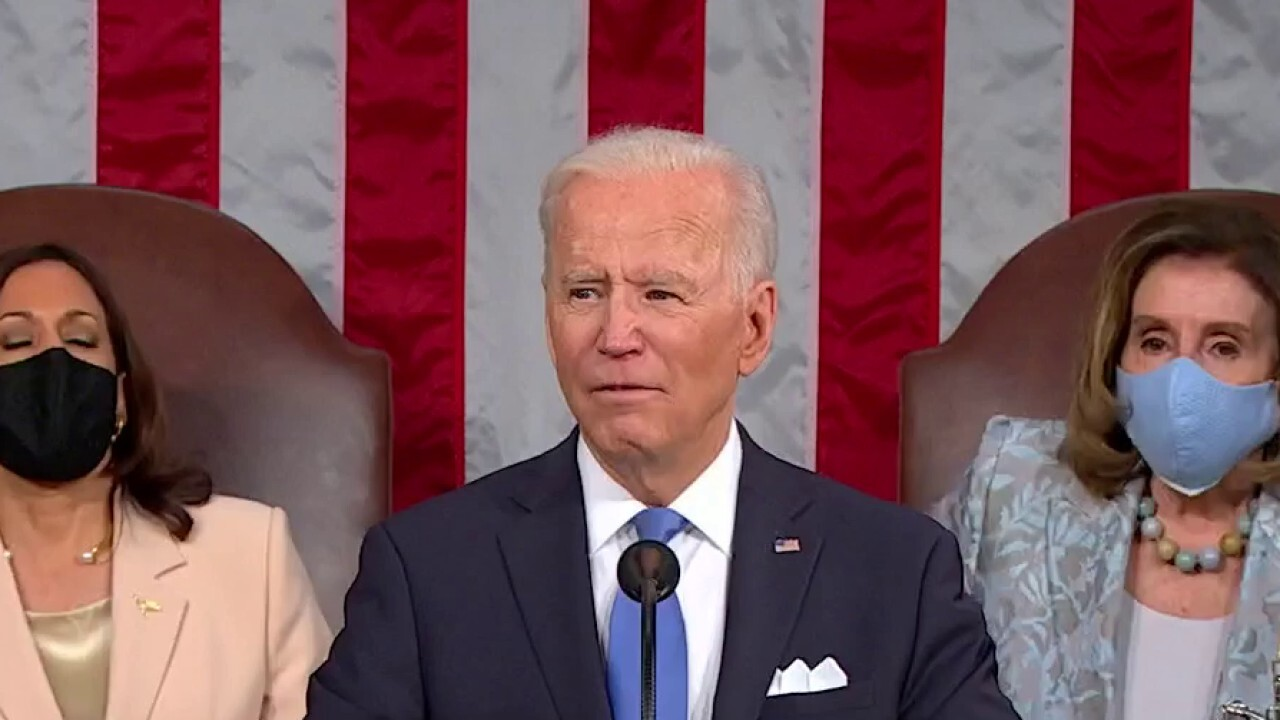 Biden rolls out ambitious policy agenda during address to Congress
