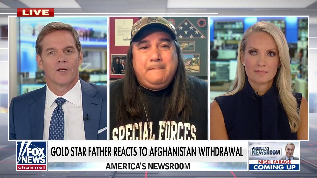 US citizens relying on Taliban for safe passage to airport an 'unacceptable' situation: Gold Star father