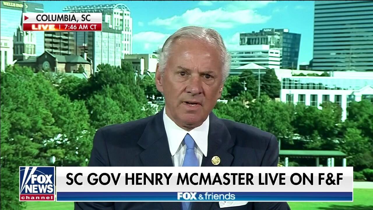South Carolina Gov. McMaster: Lack of action on border crisis 'a crying shame'