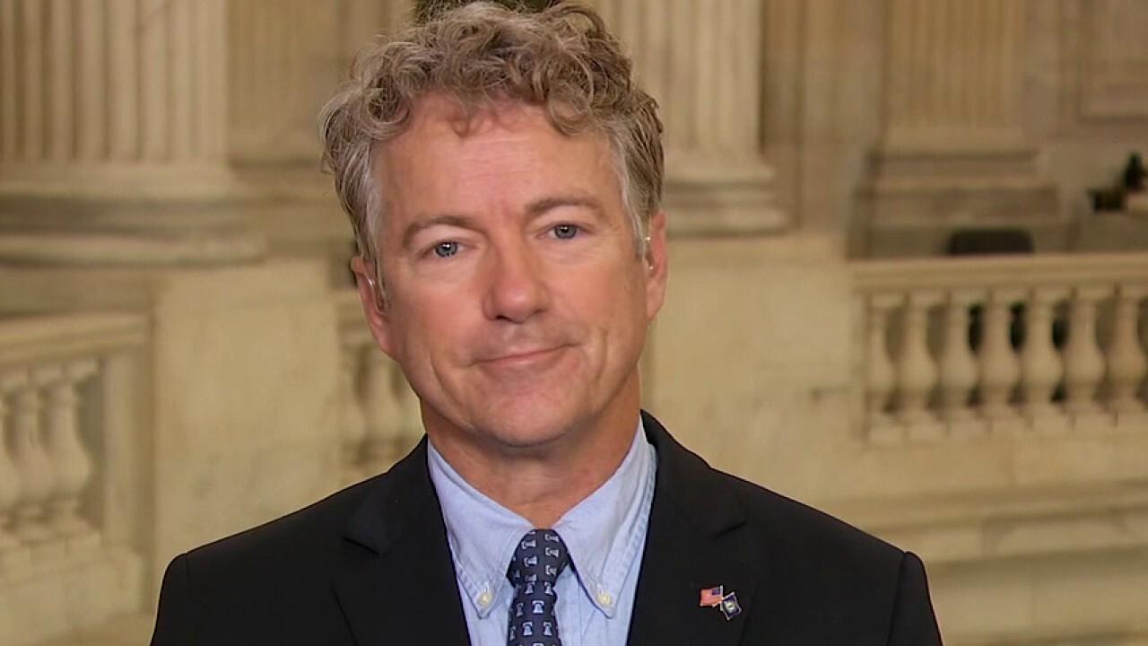Sen. Rand Paul: Trump impeachment trial 'dead on arrival' in Senate