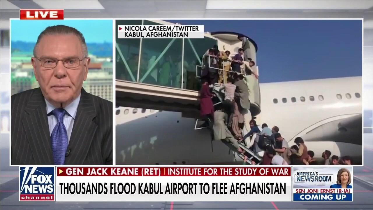 Gen. Keane: Biden 'truly owns' the Taliban victory in Afghanistan
