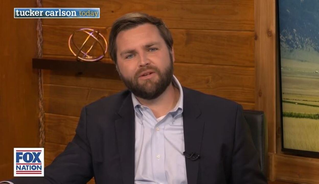 JD Vance tells 'Tucker Carlson Today' there's 'something a little bit broken down about' American Dream