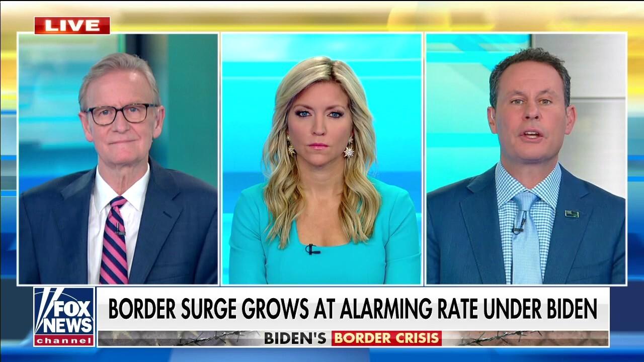 Kilmeade: 'Americans aren't buying' Biden, Harris' border claims