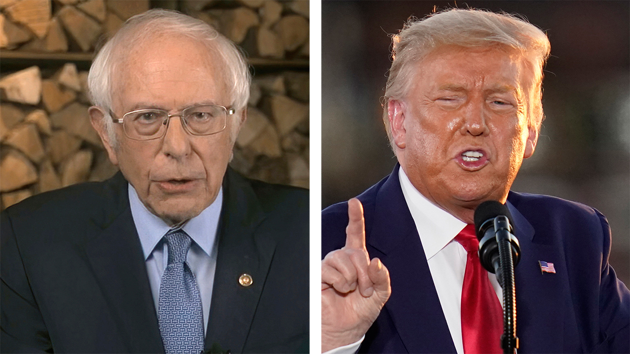 Bernie Sanders slams Trump's economic agenda as a 'scam'