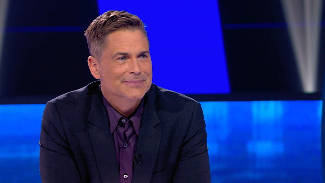 Rob Lowe is back in his role as host for more 'Mental Samurai'