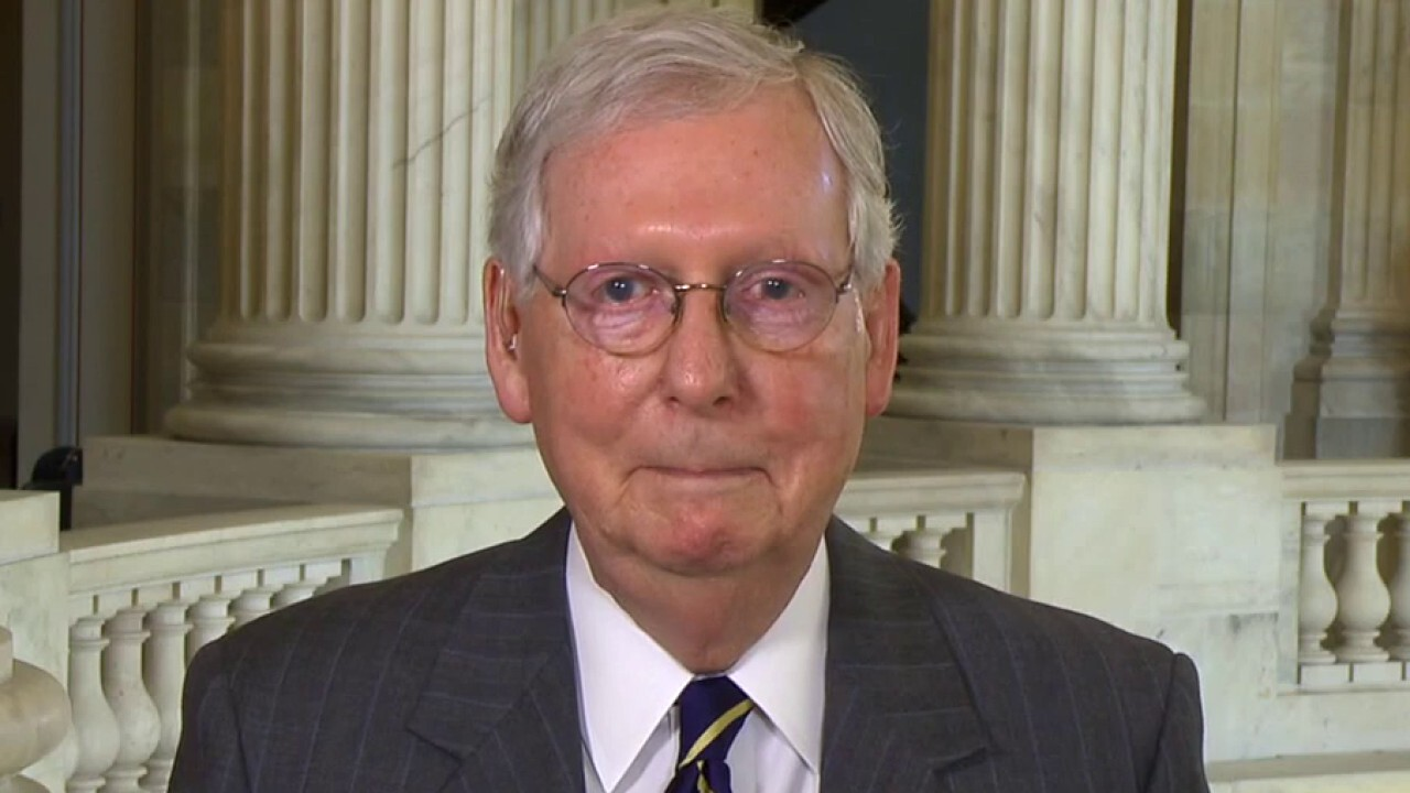 McConnell calls for GOP and Democrats to compromise on stimulus plan