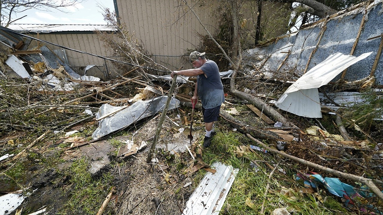 Hurricane Laura demolishes buildings, homes in Louisiana