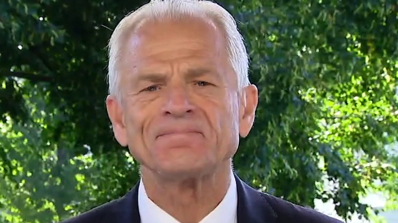 Peter Navarro, director of the White House Office of Trade and Manufacturing Policy, joins 'Fox & Friends' with an update.
