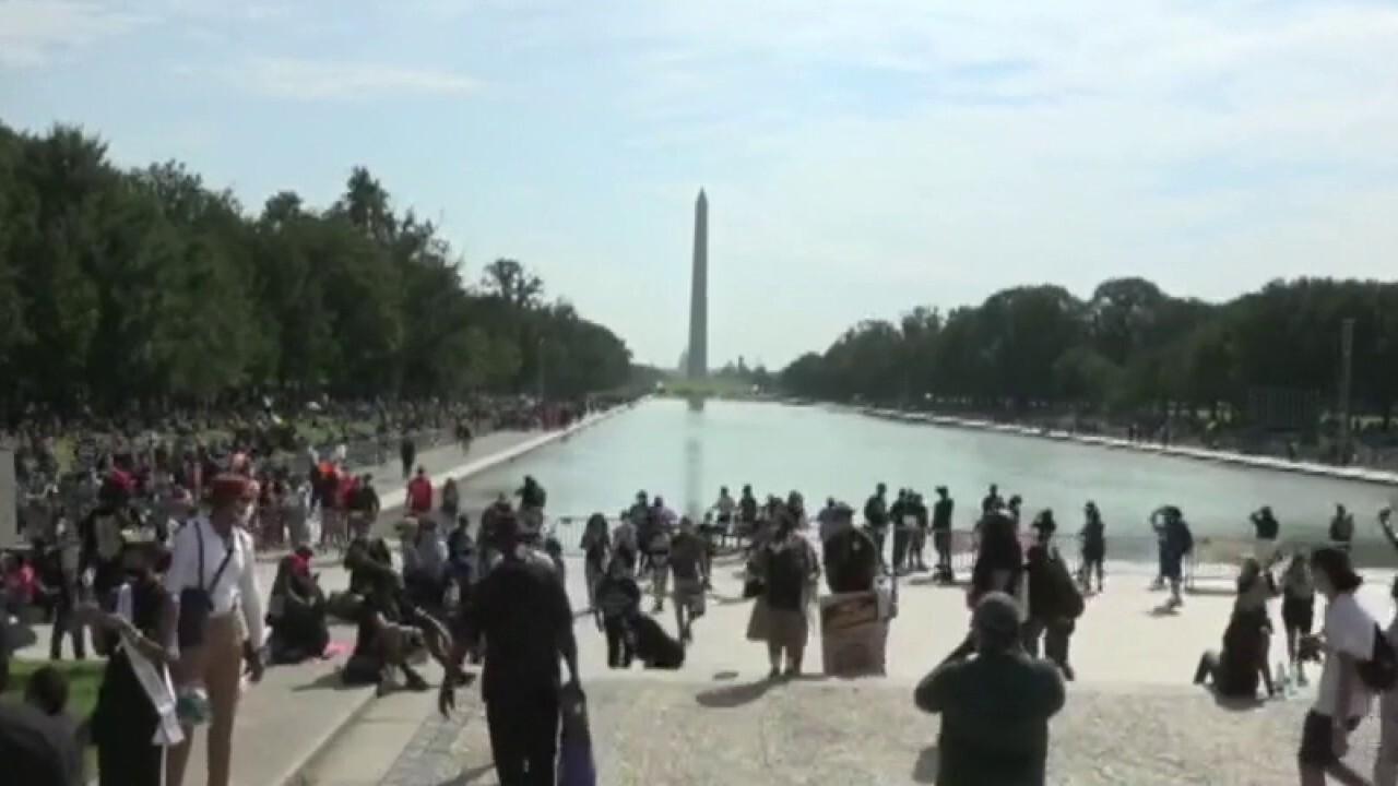 Civil rights advocates gather to commemorate March on Washington