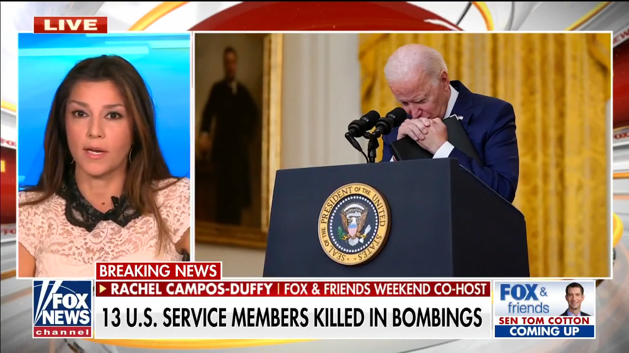 Campos-Duffy: 'The American people deserve to know who's in charge'