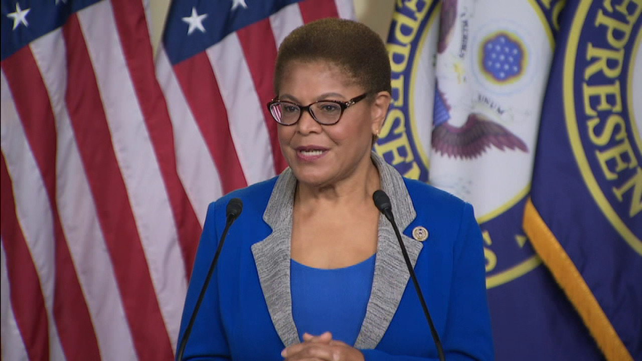 Rep. Bass: There are monuments to the people that enslaved my ancestors