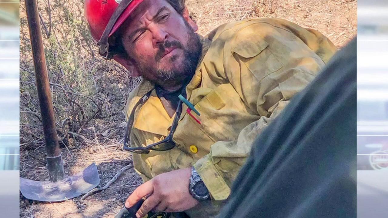 Charlie Morton identified as firefighter killed battling El Dorado fire