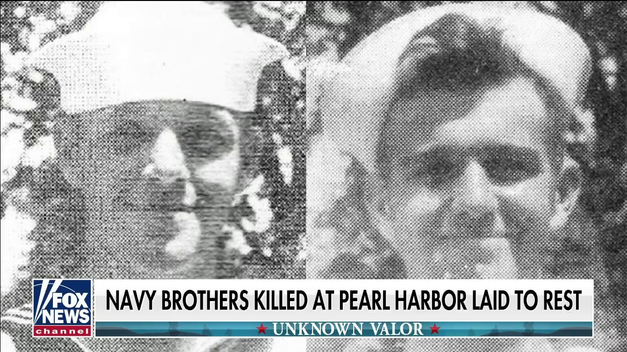 US Navy brothers killed during Pearl Harbor attack laid to rest