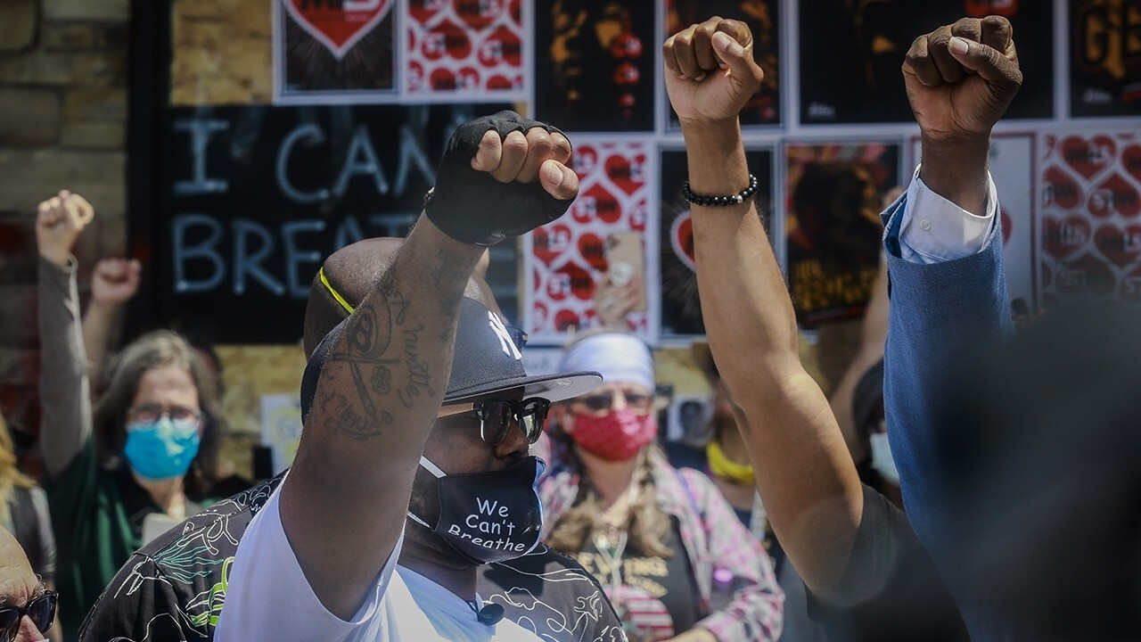 Twin Cities see relatively peaceful night of protests after George Floyd's brother calls for calm