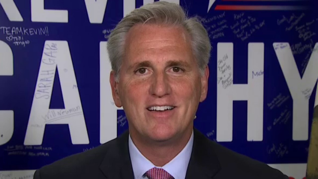 Rep. Kevin McCarthy shares message to America after GOP flips California House seat: Help is on the way