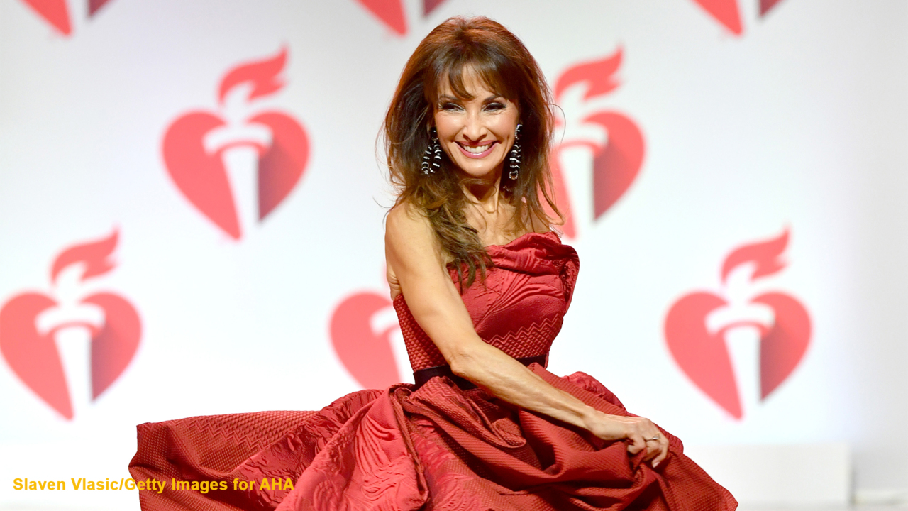 Susan Lucci unveils stunning swimsuit snap taken by 'paparazzi' husband Helmut Huber: He 'strikes again!'