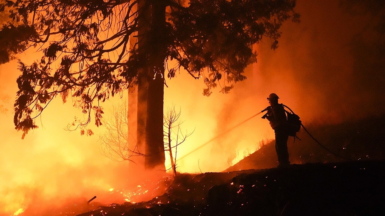 Pyrotechnic at gender reveal party blamed for California wildfire