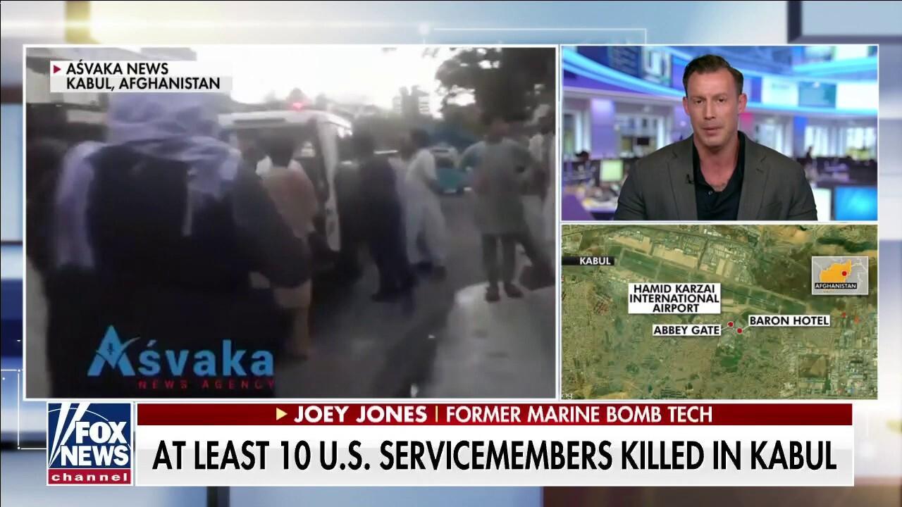 Joey Jones: Kabul explosion a 'devastating' strategic effort to kill a lot of people