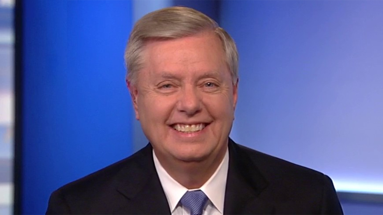 Sen. Graham: Schumer and Pelosi are no longer in charge