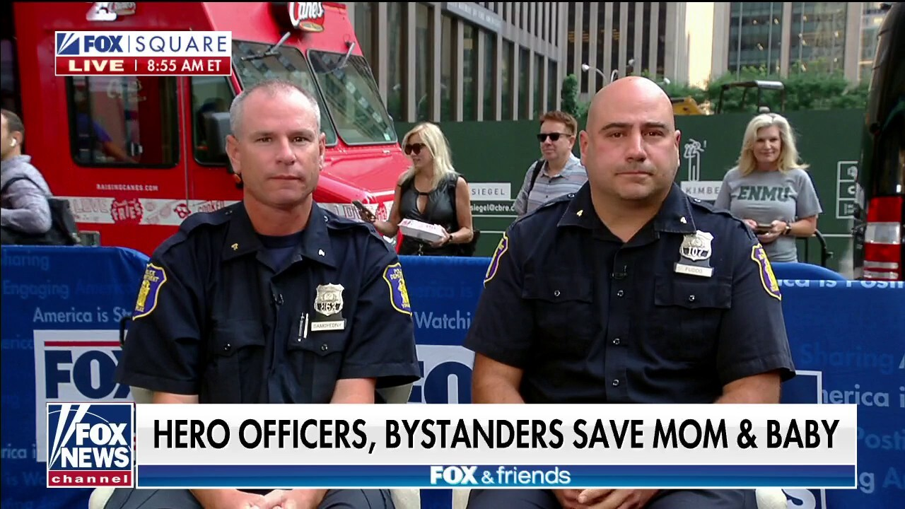New York officers save mom, child pinned under car: 'It's honestly a miracle'