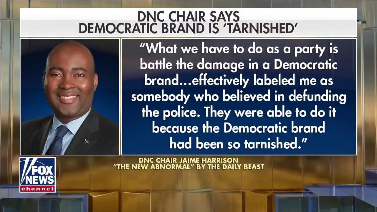 DNC chair: Democratic brand 'tarnished'