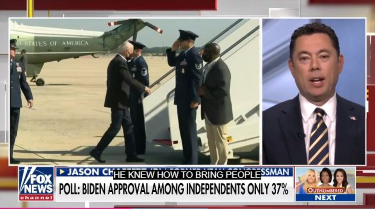 Chaffetz: Biden's crises, cratering poll numbers are 'self-inflicted wounds'