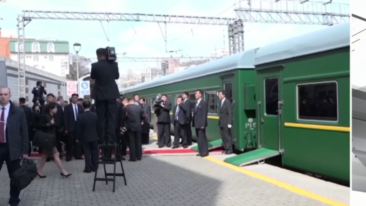 Train spotted at North Korean leader's coastal resort amid speculation about health