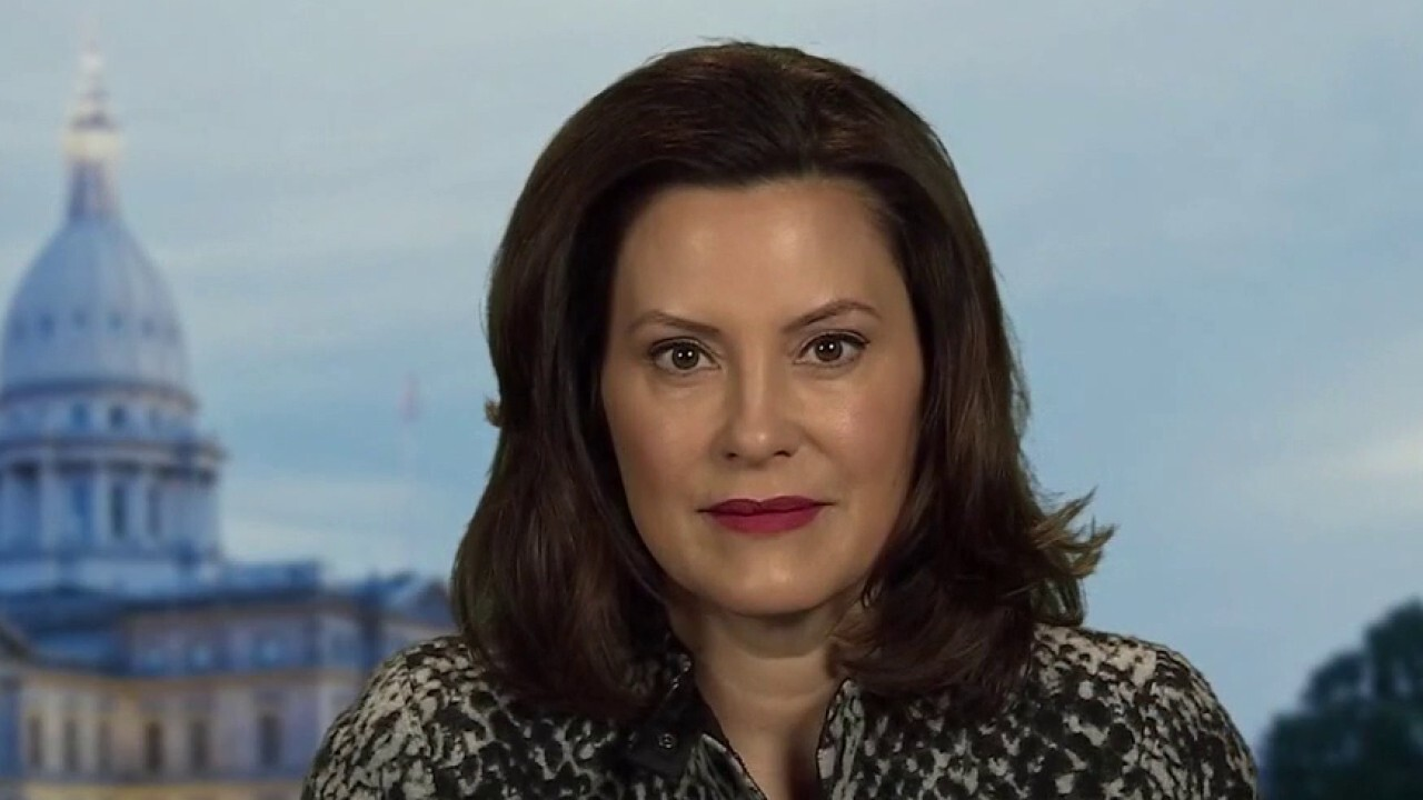 Michigan's Whitmer says states are in bidding war for medical supplies amid coronavirus pandemic