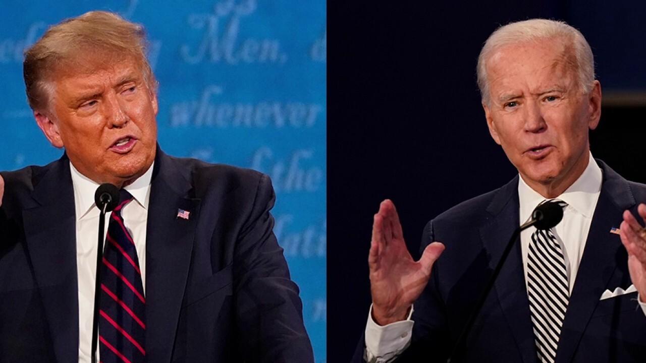 Fox News Poll shows Biden gaining ground over Trump
